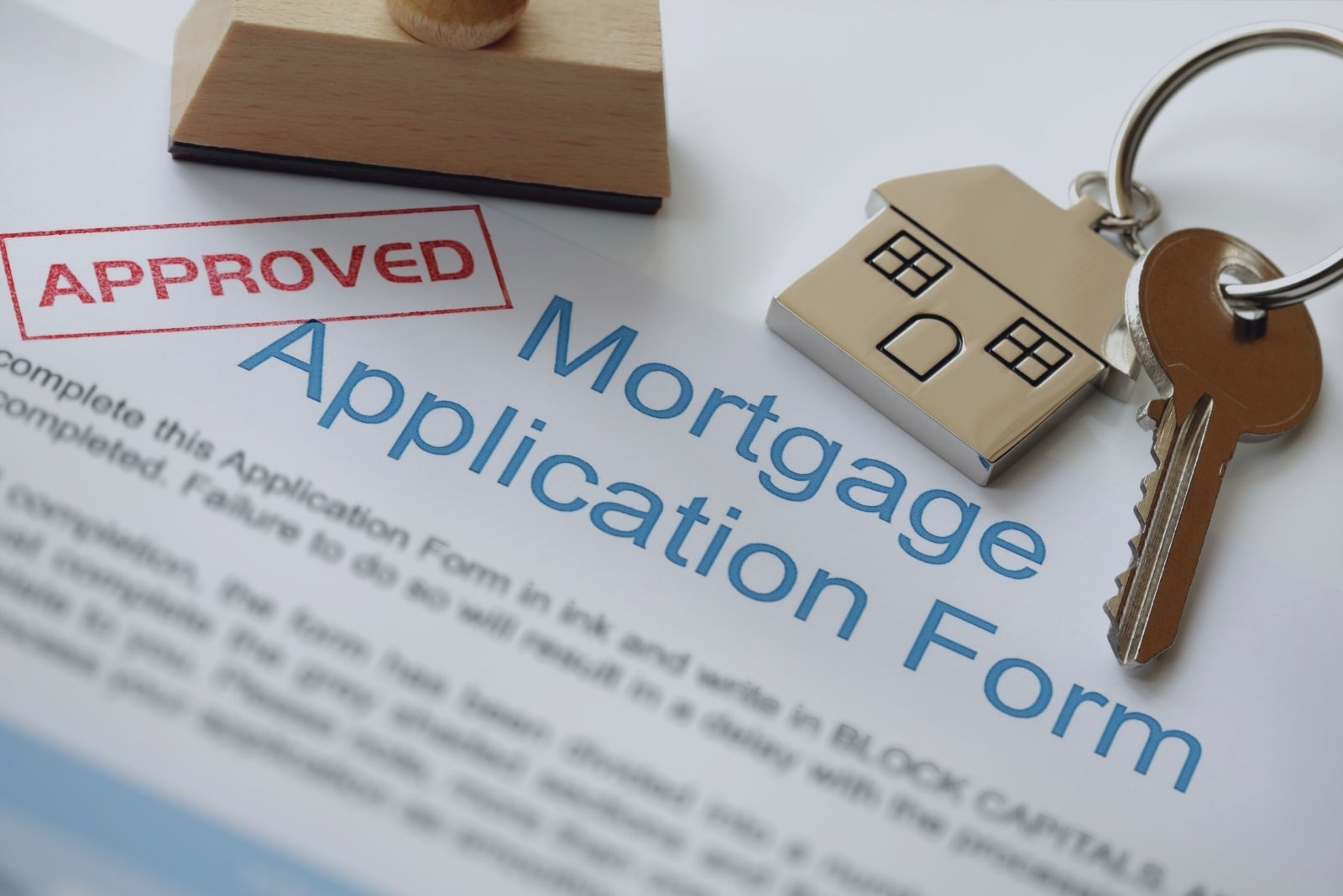Mortgage approved form